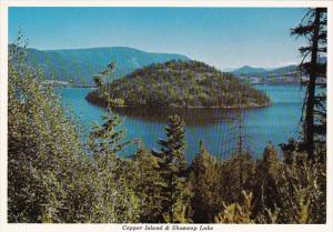 Canada British Columbia Copper Island & Shuswap Lake