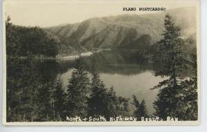 BEAUTY BAY, ALASKA, KENAI FJORDS, ALASKA RPPC Postcard