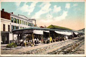 Louisiana New Orleans The French Vegetable Market Looking North