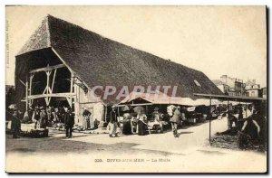 Old Postcard Dives sur Mer Halle