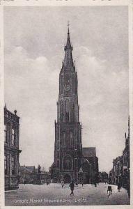 Groofe Markt Nieuwekerk, Delft (South Holland), Netherlands, 1910-1920s