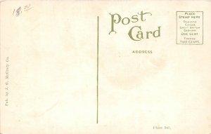 H76/ Dover Delaware Postcard c1910 Loockerman Street Stores Wagons 113