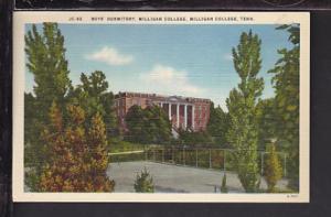 Boys Dormitory,Milligan College,Milligan College Postcard