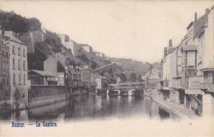 NAMUR, Belgium, 1900-1910's; La Sambre, River, Bridge