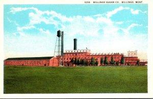 Montana Billings The Billings Sugar Company Curteich