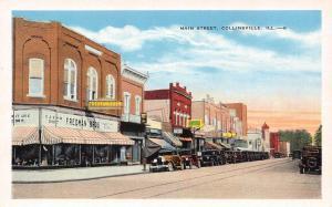 Collinsville Illinois~Fredman Brothers Cash Credit Furniture~Ellison~1920s Cars