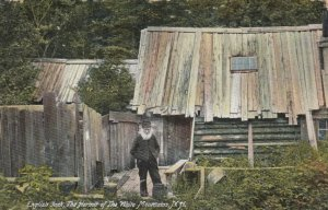 English Jack, The Hermit of WHITE MOUNTAINS, New Hampshire, 1909