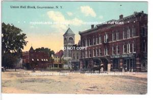 Union Hall Block, Gouverneur NY