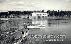Lower Dells, Wisconsin Post Card     ;     Lower Dells, WI