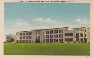 Alumni Bldg Bob Jones University - Greenville SC, South Carolina - Linen