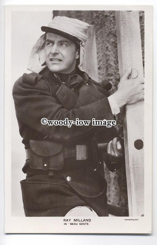 b3590 - Film Actor - Ray Milland in Beau Geste, Picturgoer No.FS188 -  postcard