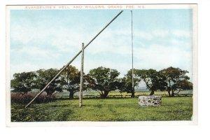 Evangeline's Well,  Willows, Grand Pre, Nova Scotia,