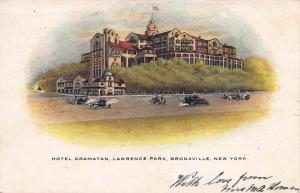 Hotel Gramatan, Lawrence Park, Bronxville, New York, 1907 Postcard, used