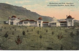 BUTTE , Montana, 00-10s ; Herbarium & Fish Hatchery