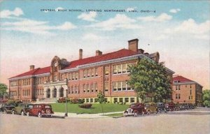 Ohio Lima Central High School Looking Northwest