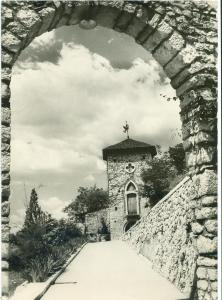 Croatia, TRSAT, Gradina, Rijeka, unused real photo Postcard