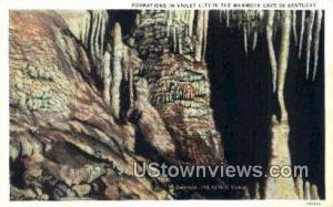 Violet City Mammoth Cave KY Unused