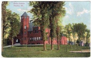 Houlton, Me, Ricker Institute
