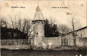 CPA AK MESSIMY Chateau de la FEUILLADE (463107)