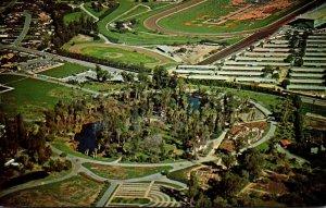 California Arcadia Aerial View Los Angeles State & County Arboretum