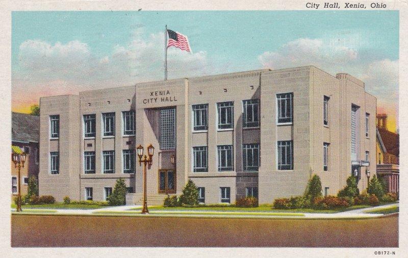XENIA , Ohio , 1949 ; City Hall