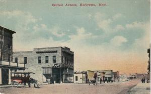 HARLOWTON , Montana , 1908 ; Central Avenue