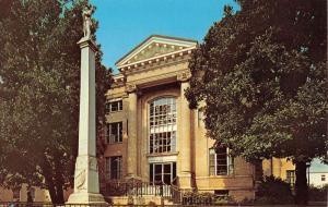 Gastonia North Carolina Gaston Court House Confederate Vintage Postcard K72311