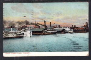 Young Stree Dock,Toronto,Ontario,Canada