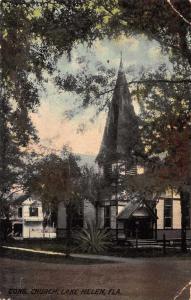 Lake Helen Florida Congregational Church Vintage Postcard JA455884