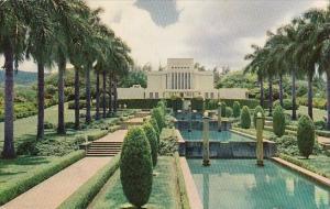 Hawaii Honolulu Mormon Temple In Hawaii 1955
