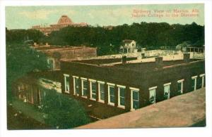 Judson College In The Distance, Birdseye View Of Marion, Alabama, 1900-1910s