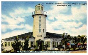 Florida Miami Beach , Lighthouse Seafood Restaurant