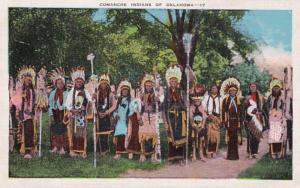 Oklahoma Group Of Comanche Indians