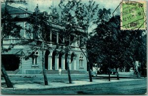 Lourenço Marques (Maputo) PORTUGAL Postcard Revenue Offices Postally Used 1911