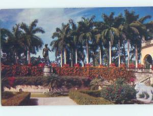 Unused Pre-1980 MUSEUM SCENE Sarasota Florida FL hs9981