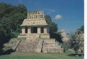 CHIAPAS, Mexico, 1940-60s; Templo Del Sol, Palenque Ruins