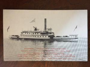 1935 Steamer Chateaugay, Burlington, VT - Port Kent, NY Ferry C13