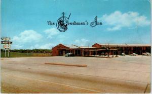 WYNNE, AR Arkansas   The COACHMAL'S INN  c1960s  Cars  Roadside  Postcard