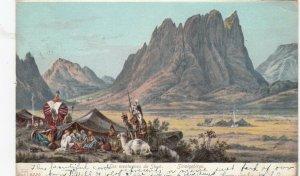 Les montagnes de SINAI , Arab Nomad Camp, 1907