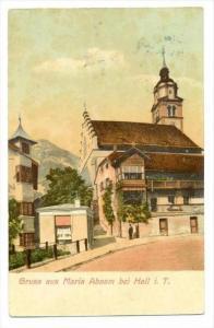 Gruss aus Maria Absam bei Hall i. T. , Austria , PU-1909