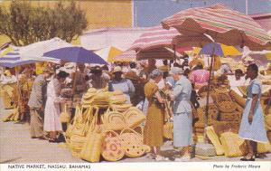Bahamas Nassau Native Straw Market