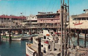 California San Francisco Fisherman's Wharf Fishing Boats