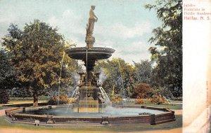 Fountain   Jubilee, Public Gardens, Halifax. N.S. Postcard Unused