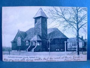 Postcard NJ Caldwell  1907 View Methodist Episcopal Church