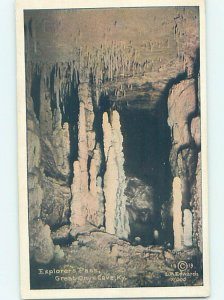 Linen GREAT ONYX CAVE Mammoth Cave National Park - Cave City Kentucky KY AD4491