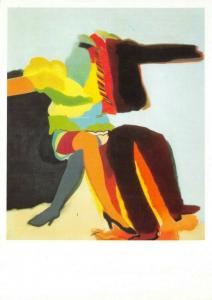 Art Postcard, Man Woman (1963) by Allen Jones 60T