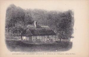 CAUDEBEC EN CAUX (Seine Maritime), France, 1900-1910s; Chateau De Villequier,...