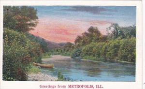 Illinois Greetings From Metropolis