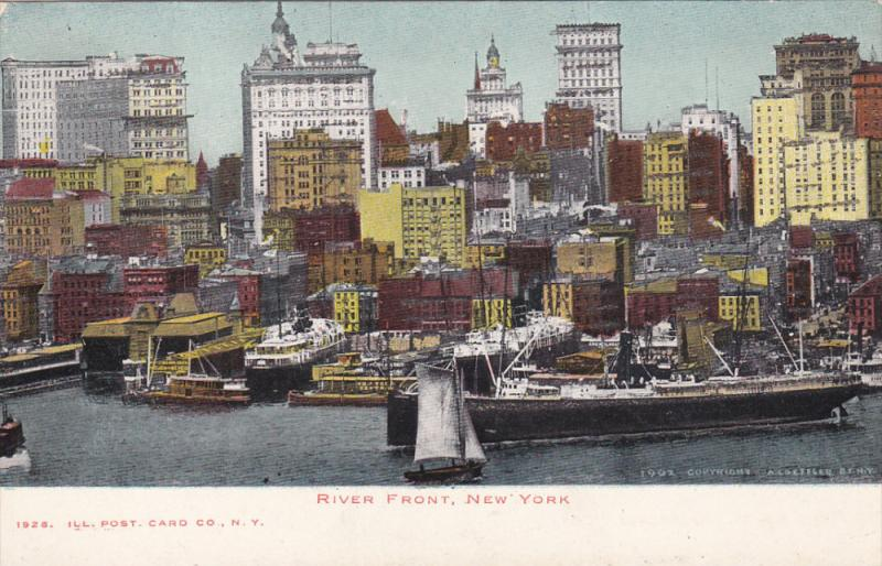 Ocean Liners , River Front , New York City , 00-10s