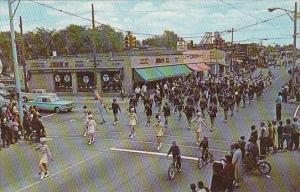 Michigan Hazel Park Main Street Senior High School Band Memorial Day Parade